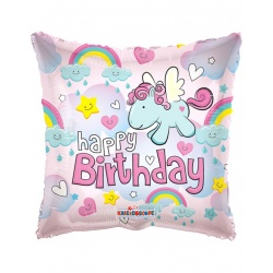 19459-18 Flying pony unicorn balloon